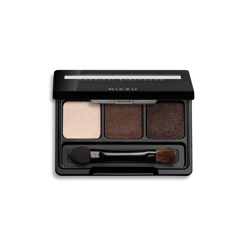 Gradical Eye Shadow 2 - Natural Mocha 03 Open Shadow