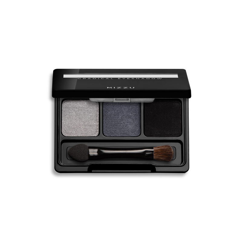 Gradical Eye Shadow 2 - Smoky Charcoal 01 Open Shadow
