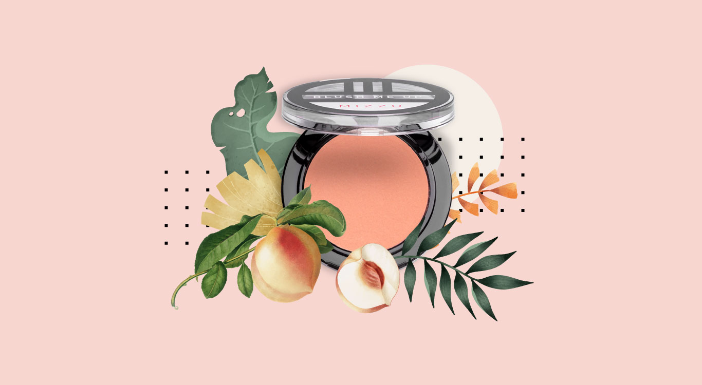 PEACHY MAKEUP LOOK, CHECKED!